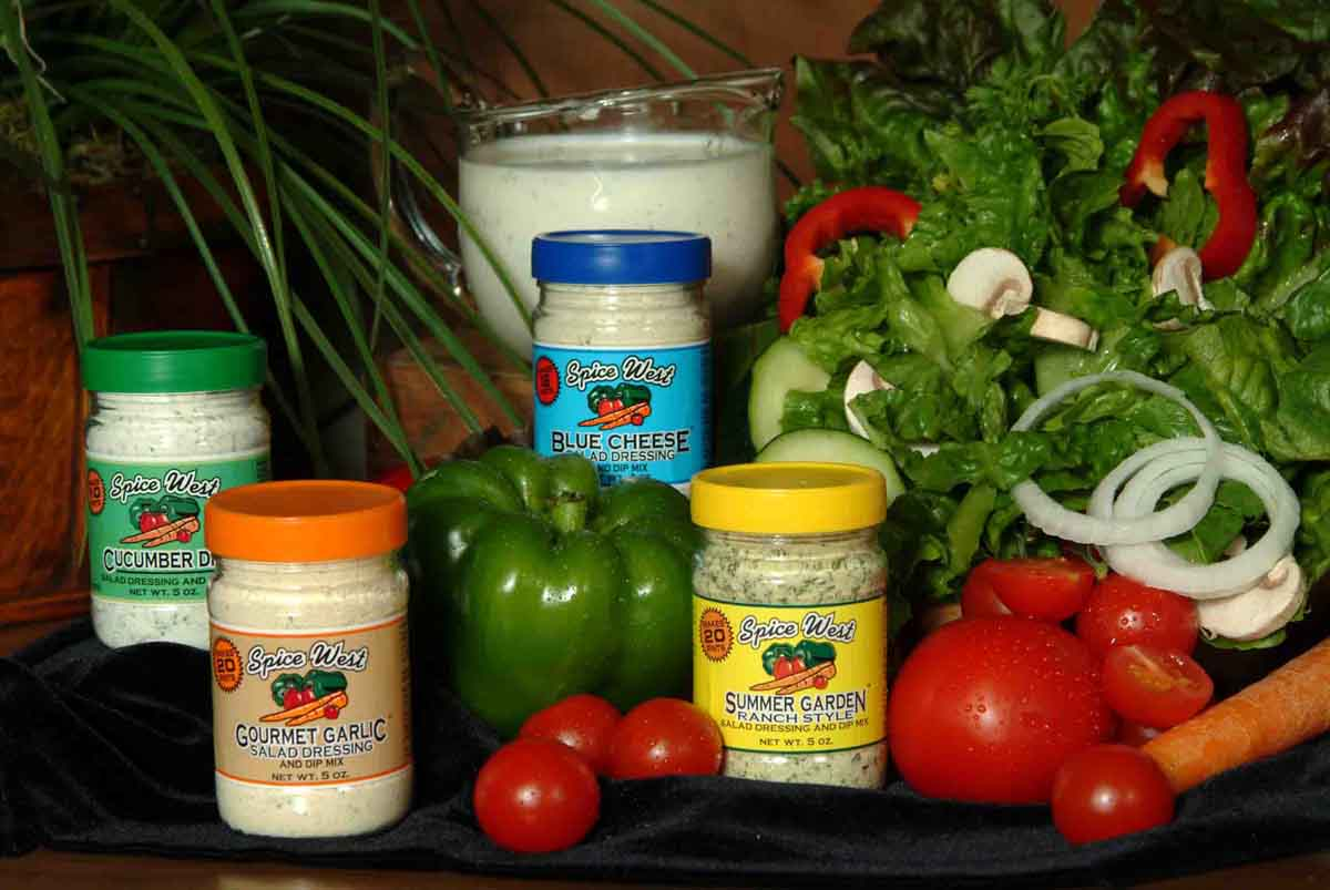 Spice West Salad Dressing and Dip Mixes